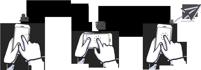 How to gestures